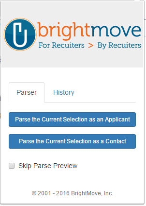 brightnews 2 brightmove resume parser extension brightmove